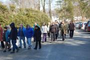 Walking Meditation at Day of Mindfulness, MPG of Annapolis